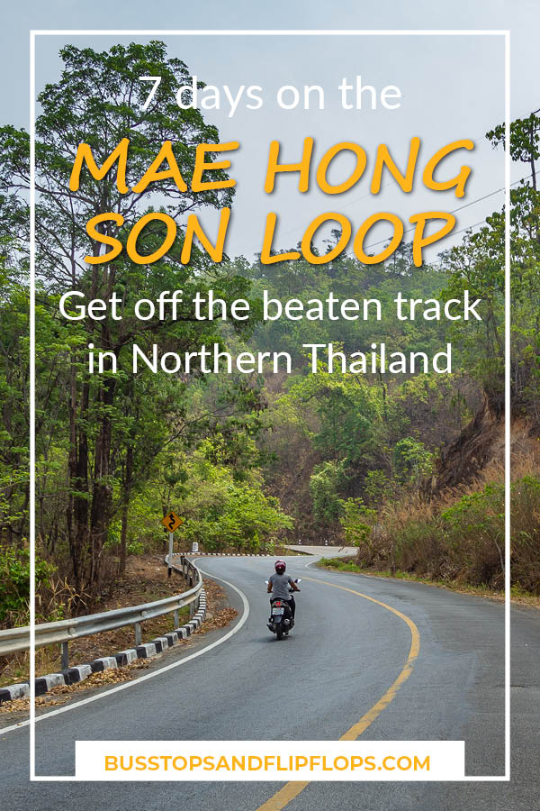 Get off the beaten track in Northern Thailand! The Mae Hong Son loop is a four to seven day motorbike loop that gets you off the tourist trail. Go and explore!