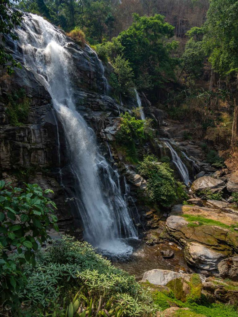 Wachirathan Waterfall in Doi Inthanon National Park