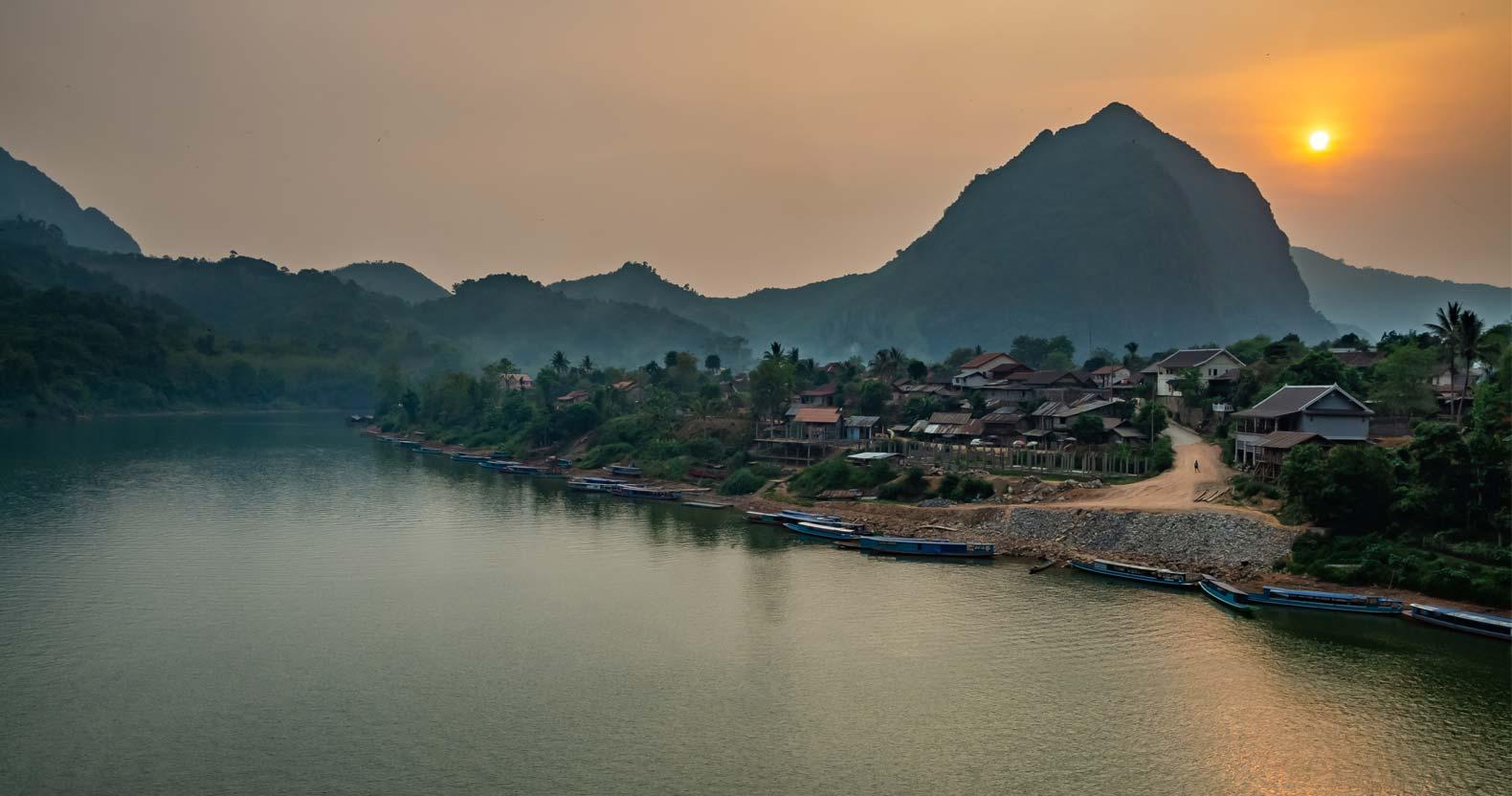 Nong Khiaw: rural Laos at its best