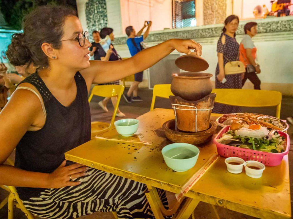 Hot Pot at Chiang Rai Night Bazaar