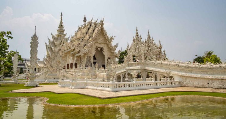 The Three Colored Temples of Chiang Rai