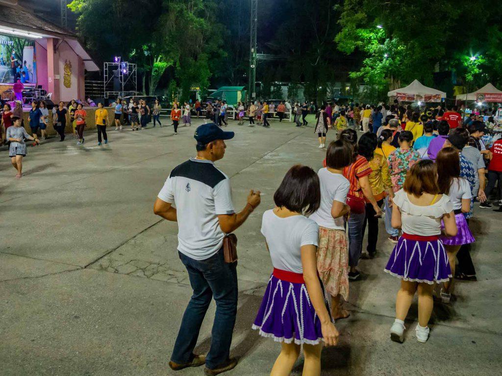 Chiang Rai Saturday walking street party