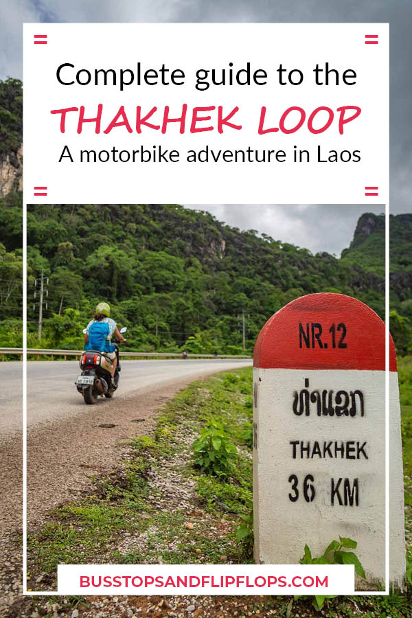 Don't miss our complete guide to the 4-day Thakhek Loop in Laos! This fantastic 450 km motorbike loop features towering karst cliffs, stunning mountain views and, most notably, magnificent cave systems.