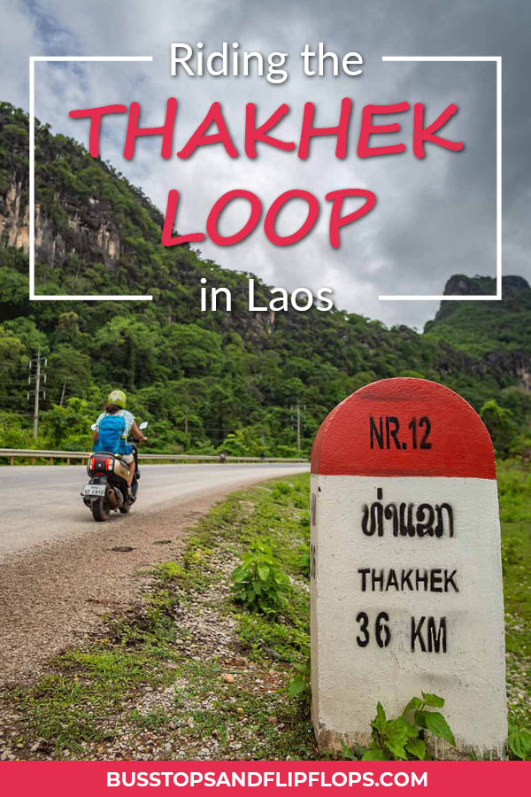 Riding the Thakhek Loop in Laos has been one of our favorite experiences in Laos! Experience Southeast Asia off the beaten track on this 4-day motorbike loop.