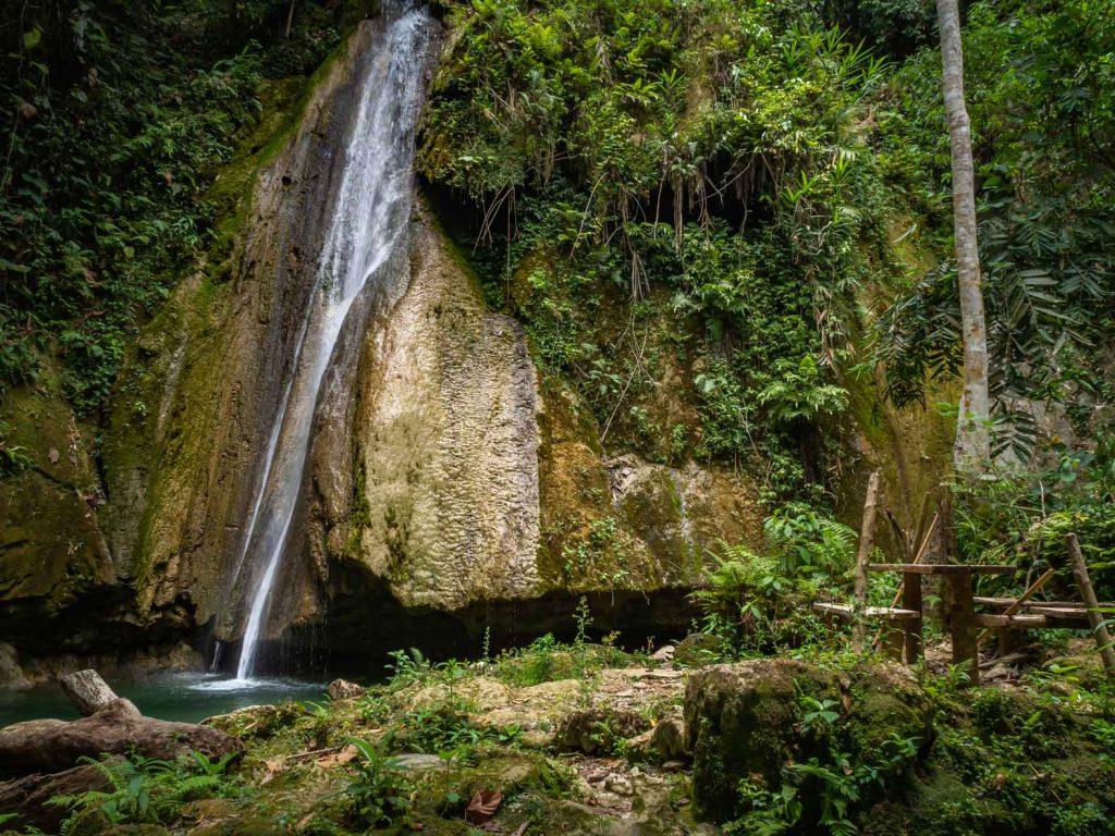 Waterfall tour in Nong Khiaw
