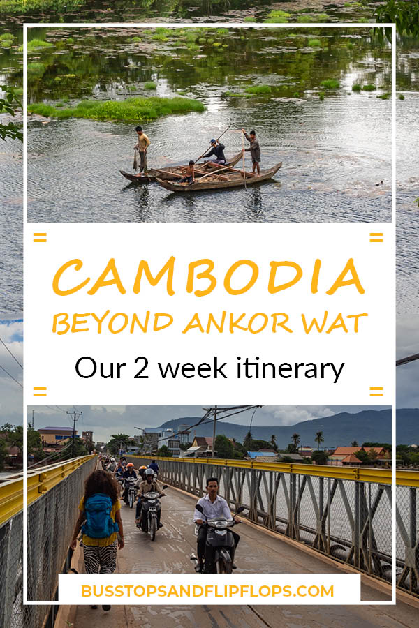 This 2 week Cambodia itinerary will bring you past all the highlights. Of course Angkor Wat is featured, but you'll also have time to lay on the beach, eat the best crab of your life and watch fireflies!