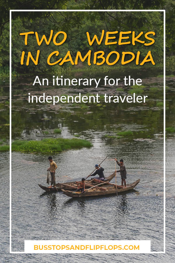 Two weeks in Cambodia gives you enough time to visit the highlights of this small country in Southeast Asia. Check out our itinerary for the independent traveler!