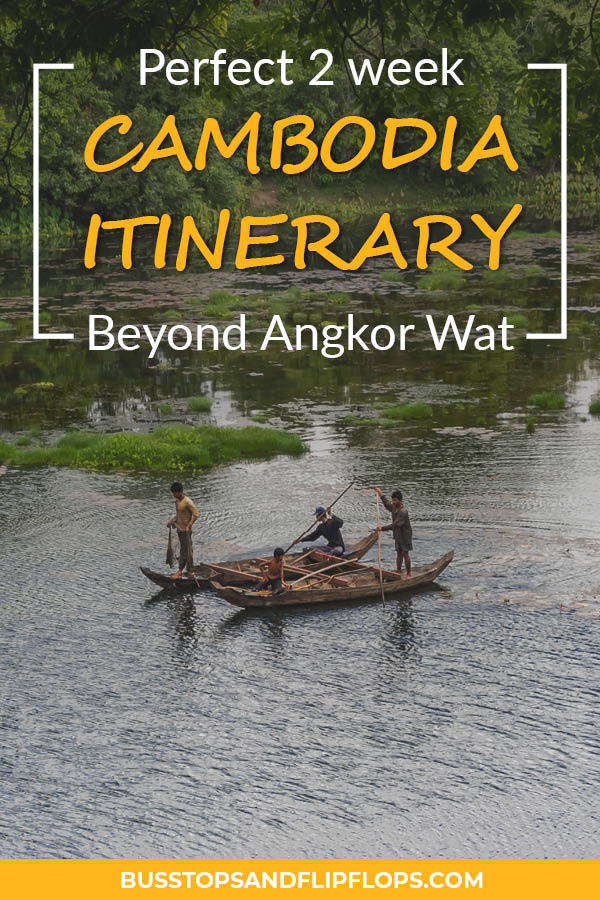 Are you planning on visiting Cambodia and do you want to see more than just Angkor Wat? We've got the perfect 2 week Cambodia itinerary for you! Discover Phnom Penh, Koh Rong Sanloem and Kampot.