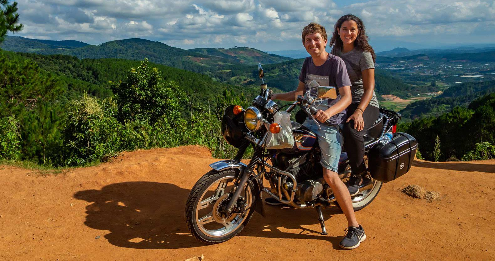 Sightseeing around Dalat with an Easyrider