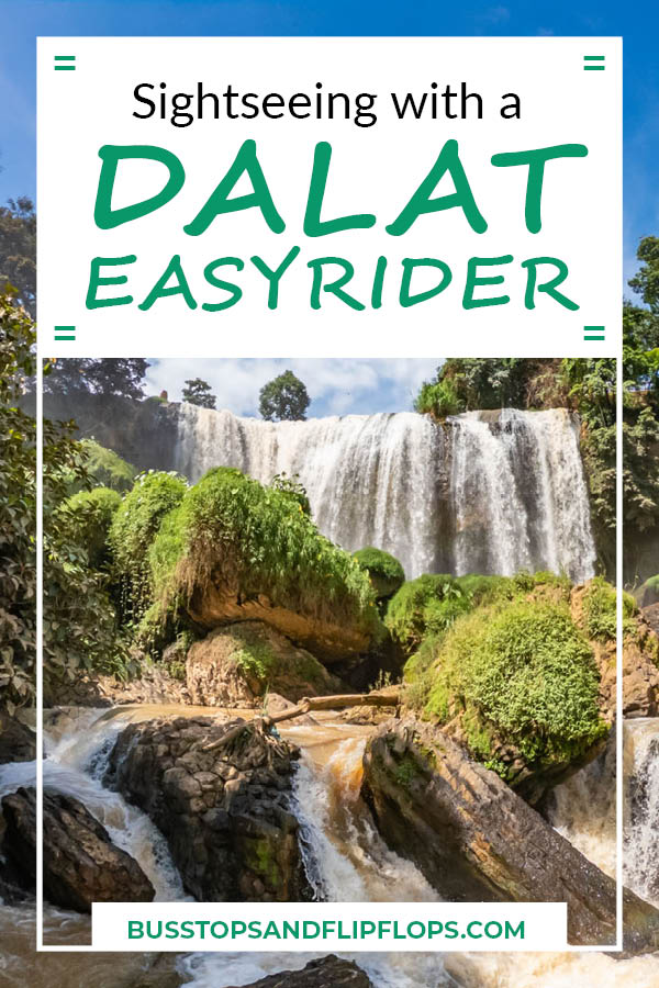 Hiring an Easyrider is the best way to see all the highlights of Dalat, Vietnam. Relax on the back of a motorcycle and visit waterfalls, pagoda's and much more!