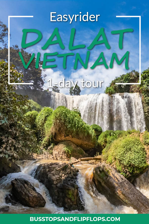 We spent our day in Dalat cruising the countryside with an Easyrider. We saw two waterfalls, a pagoda, silk factory and much more. Check out our blog and plan your own Dalat Easyrider tour!