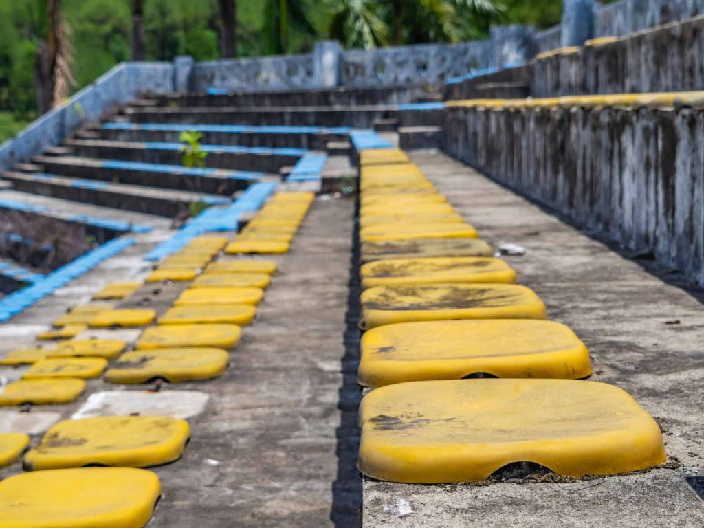 Amphitheatre at Hue's abandoned water park