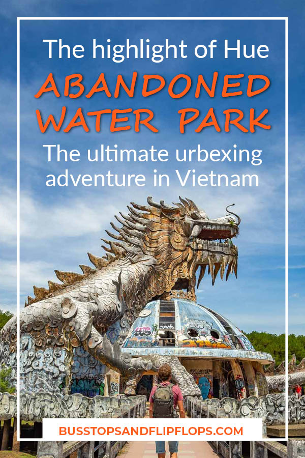 Hue water park was abandoned many years ago and has been left to the elements. It's now a popular urbexing site for adventurous youngsters visiting Vietnam. Have you seen enough temples? Go check out the abandoned water park of Hue!