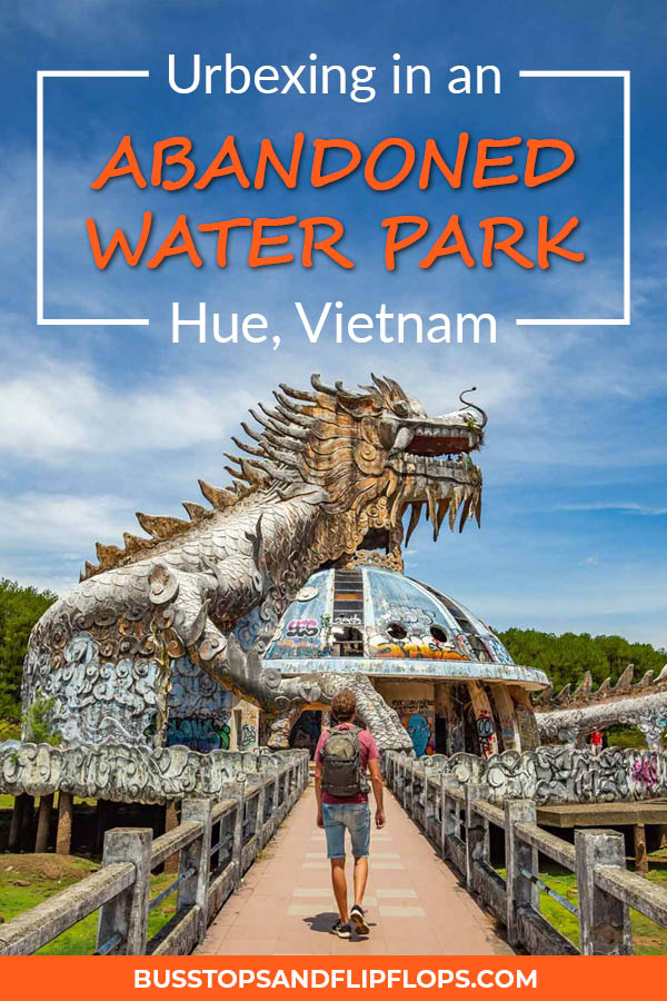 Urbexing in the abandoned waterpark of Hue is a definite must-do when you are in Vietnam! This alternative activity will for sure give you an interesting and adventurous day, away from the crowds visiting the temples. Read all about how to explore the closed Hue waterpark by yourself!