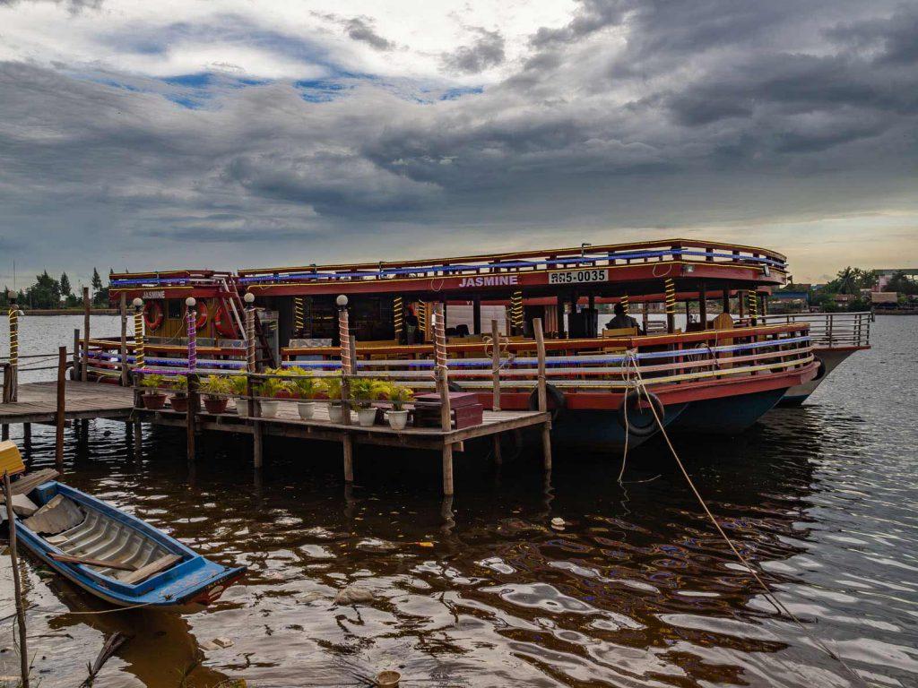Kampot sunset firefly cruise