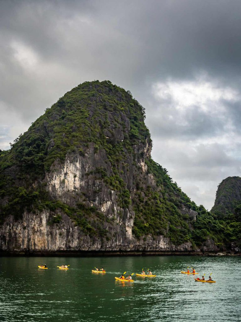 Lan Ha Bay Kayaking Tour