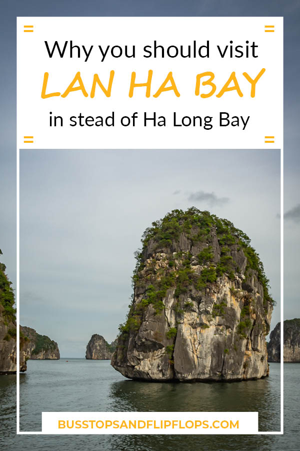 For those of you planning a trip to Ha Long Bay, we're here to tell you that you should visit Lan Ha Bay in stead. Why? Read our blog to find out!