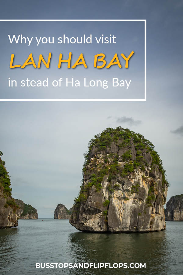 We've all heard of Ha Long Bay, the unique UNESCO site in the North of Vietnam where you can cruise between stunning karst mountains. But have you also heard of Lan Ha Bay? Probably not! We'll tell you why you should visit Lan Ha Bay in stead of Ha Long Bay for a less touristy, but equally beautiful experience!