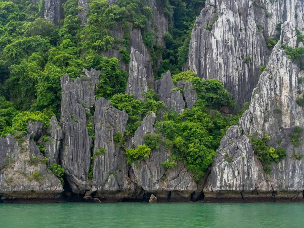 Lan Ha Bay karst islands