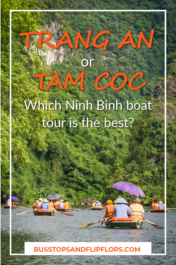Trang An or Tam Coc? We've got the answer for you! Read our blog post to find out which Ninh Binh tour offers the best surroundings, routes, rowers, cleanliness and price. With our help you'll get an awesome boat tour in Vietnam!