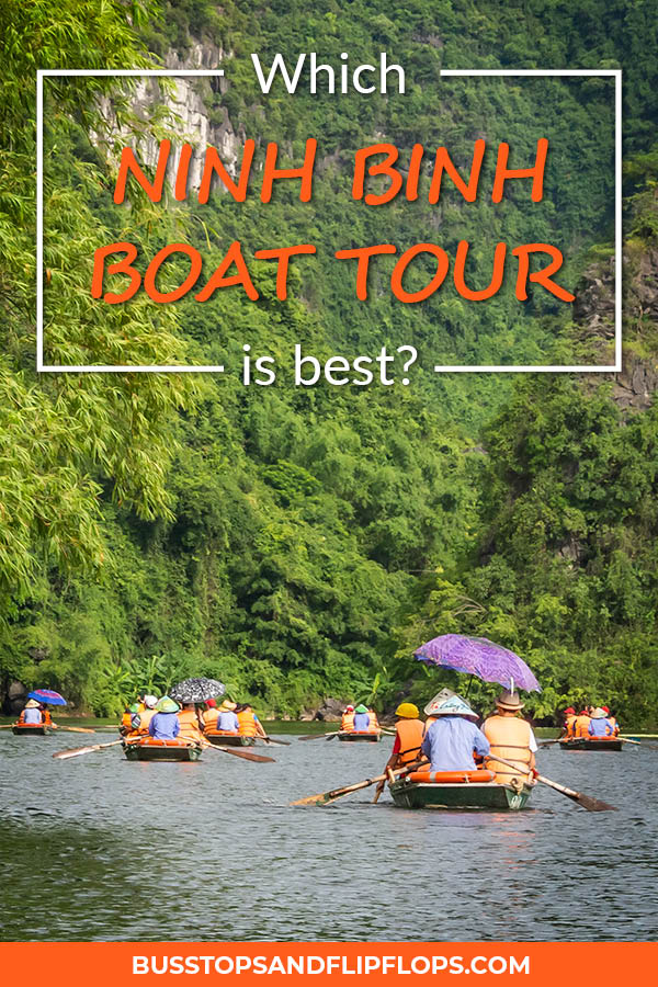 Should you do a Trang An boat tour or a Tam Coc boat tour? With our help, you'll have no toruble in picking the best boat ride of Ninh Binh, Vietnam!
