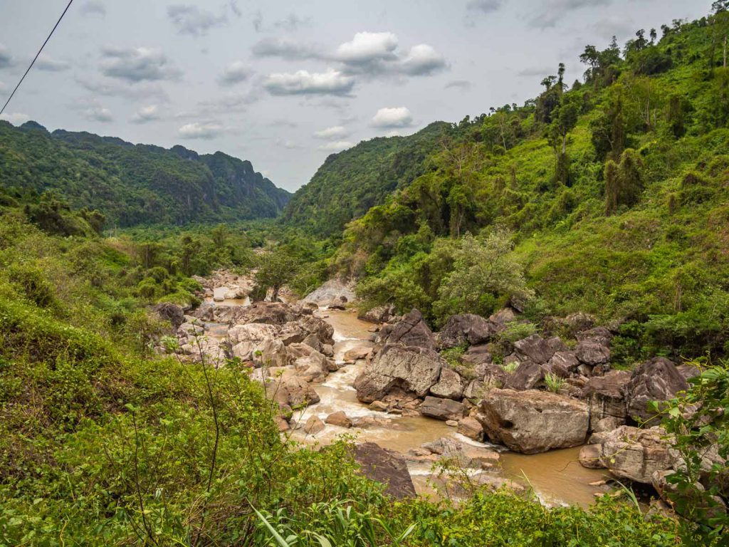 Beautiful scenery in Phong Nha