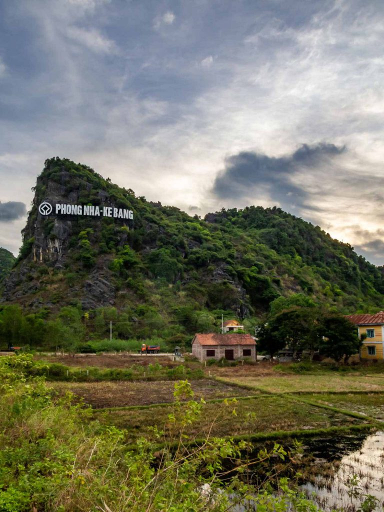 Phong Nha-Ke Bang National Park has its own Hollywood sign