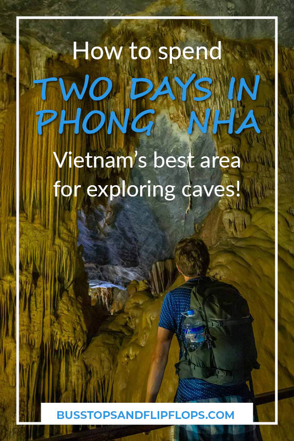 Did you know that there's more to do in Phong Nha-Ke Bang National Park than going on expensive multi-day caving tours? Read our blog post to find out how to spend two days in Phong Nha and Bong Lai Valley!