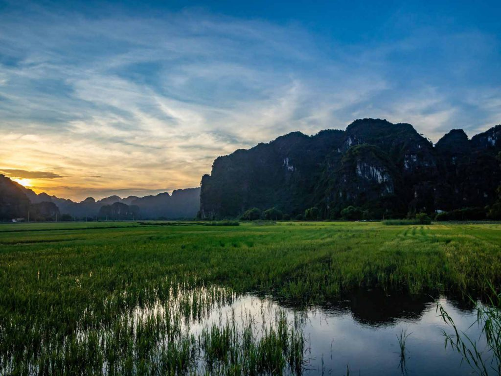 You'll get views like this on a Tam Coc boat tour
