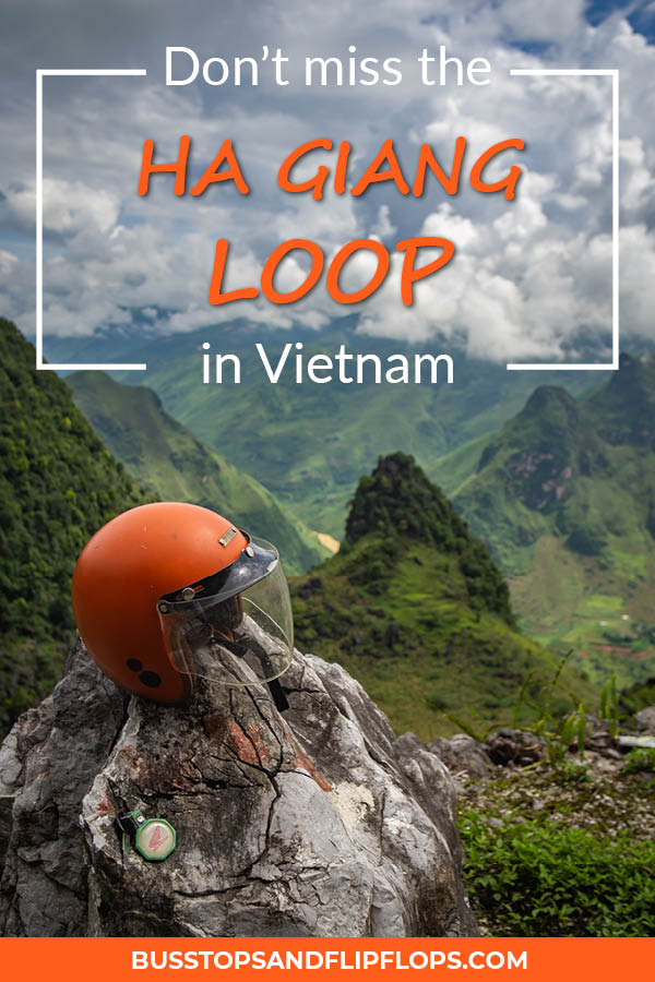 If you're in Vietnam and you want to experience truly awe inspiring landscapes you have to do the Ha Giang Loop in Northern Vietnam. Read all about why you can't miss this highlight!