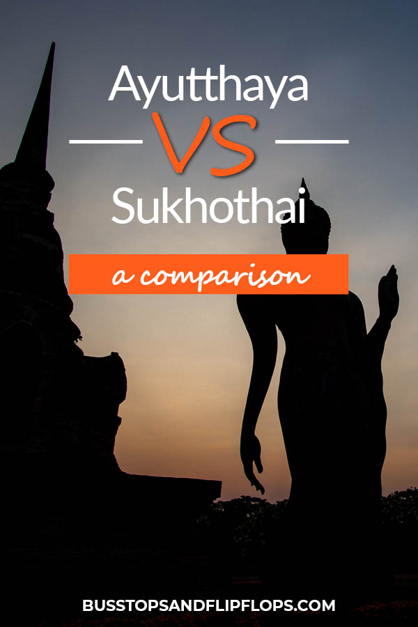 Sukhothai and Ayutthaya both are ancient cities of great importance to the history and culture of Thailand. We suggest you visit both! But if you are limited in time, or you only want to visit one, we can help you decide which one is best for you!