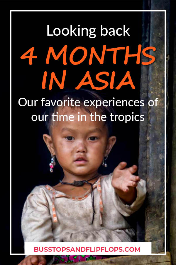 Are you planning a trip to Asia? Don't miss out on these amazing experiences! They are what made our Southeast Asia travel unique and beautiful. It's all the travel inspiration you need to make you want to travel the world.