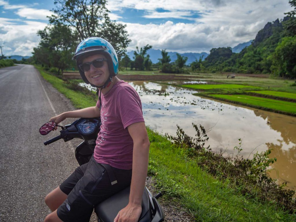 Riding the Thakhek loop by motorbike