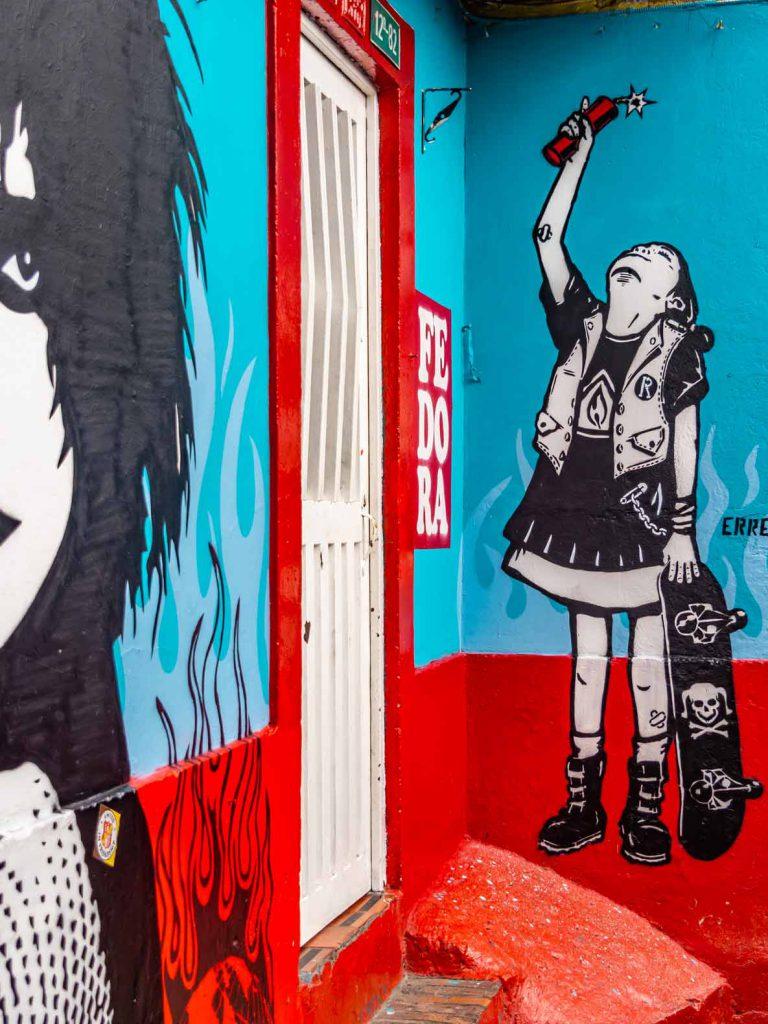 Urban art in Bogotá, Colombia