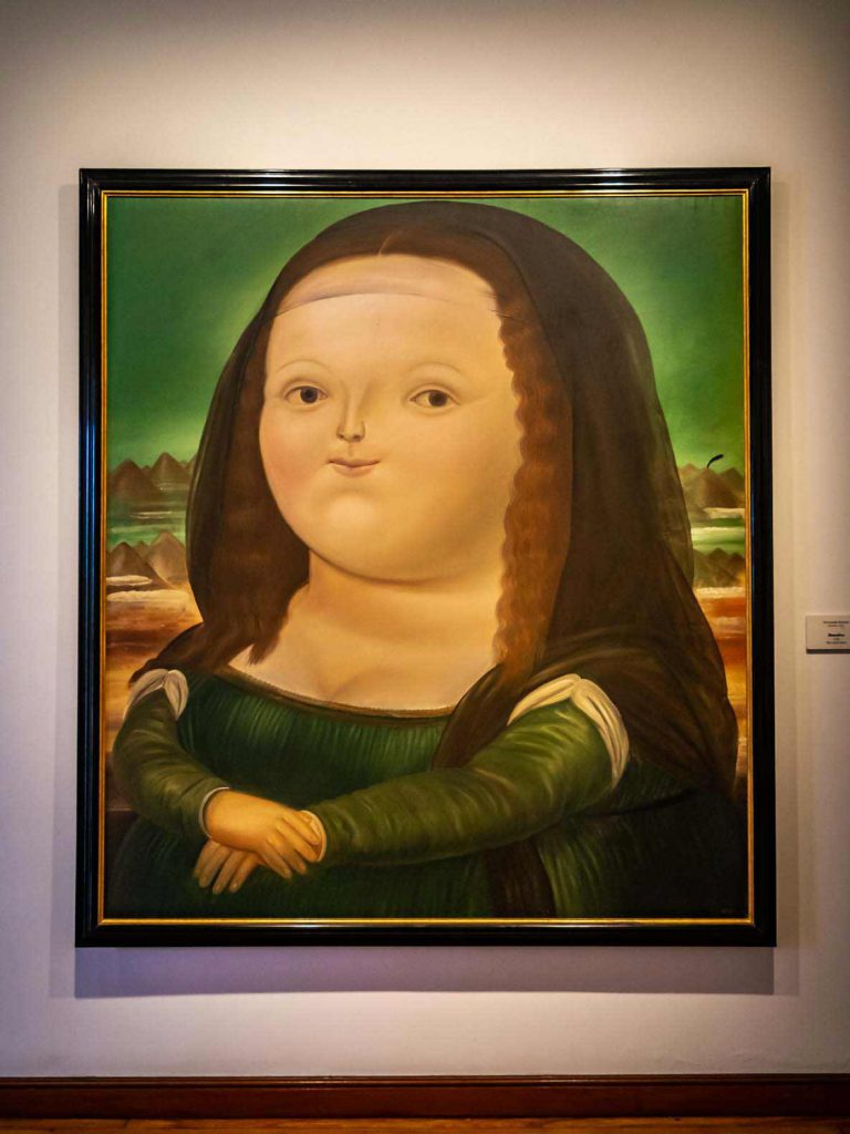 The Botero Museum is worth a visit when in Bogota