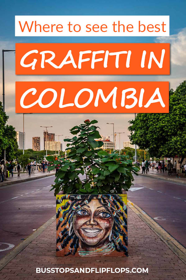 Colombia is one of the top places in the world to see amazing street art. In this post we'll tell you where to find the most awesome graffiti in Colombia!