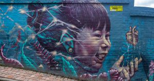 Where to see the best graffiti in Colombia