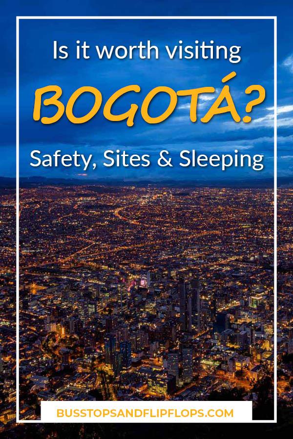 Are you planning your trip to Colombia and arriving in Bogota? Do you want to know if Bogota is worth visiting or whether you can better spend your precious days in tourist hot spots such as Cartagena and Medellin? We've got all the answers for you! And we've included some useful Bogota safety tips, things to do in Bogota and the best Bogota neighborhoods to find your hotel in.