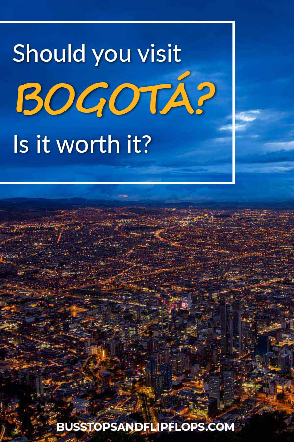Is Bogota worth visiting? We'll answer this much asked question by looking at a few city aspects: things to do in Bogota, where to stay in bogota and most importantly whether Bogota is safe for tourists. Go plan your Colombia trip now!