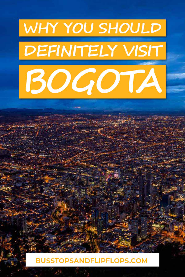 Many people want to know whether Bogota is worth visiting when they only have a limited time on their vacation. With Bogota things to do such as a Bogota walking tour, Cerro Monserrate, the many Bogota museums and a daytrip to the salt cathedral of Zipaquira, we're here to tell you that it definitely is! Check out our tips on what to do in Bogota, where to stay in Bogota and important Bogota safety tips!