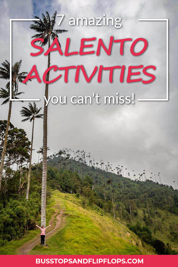 The small village of Salento was one of our favorite places to visit in Colombia. The architecture is colorful, the surrounding nature is beautiful and the people are friendly. What else do you need? Oh yeah, great ho(s)tel, delicious food and these 7 amazing Salento activities!